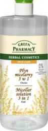 Green Pharmacy Płyn micelarny 3w1 z ekstraktem z owsa 500ml
