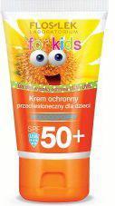 FLOSLEK Sun Care Krem ochronny przeciwsłoneczny dla dzieci SPF 50+ bardzo wysoka ochrona 50ml
