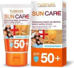 FLOSLEK Sun Care Ochronny krem na słońce SPF 50+ bardzo wysoka ochrona UVA/UVB 50ml