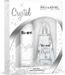 Bi-es Crystal Damski Komplet Woda perfumowana 100ml + Dezodorant 150ml