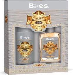 Bi-es Bi-es Royal Brand Light Komplet Woda po goleniu + Dezodorant - 093451