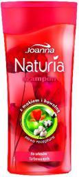Joanna Naturia Szampon do włosów Mak i bawełna 200 ml