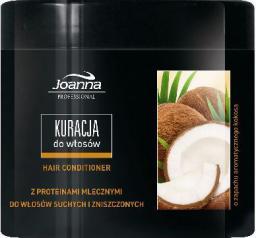 Joanna Profesjonalna Stylizacja Pielęgnacja Maska kokosowa do włosów suchych i zniszczonych 500 ml