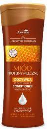 Joanna Tradycyjna Receptura Odżywka do włosów regenerująca Miód i Proteiny Mleczne  300 ml