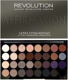 Makeup Revolution Ultra Palette 32 Zestaw cieni do powiek Affirmation   (32 kolory) 16g