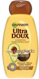 Garnier ULTRA DOUX Szampon z awokado i masłem karite do włosów zniszczonych 400 ml