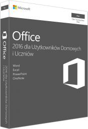 Microsoft Office 2016 dla Użytkowników Domowych i Uczniów macOS (GZA-00991)