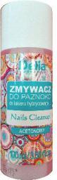 Delia Zmywacz do lakieru hybrydowego acetonowy 100ml