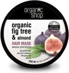 Organic Shop ORGANICZNA maska do włosów GRECKA FIGA i OLEJ MIGDAŁOWY 250 ml