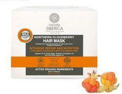 Natura Siberica Blanche Maska do włosów malina moroszka róża szałwia 120 ml