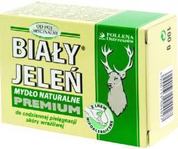 Biały Jeleń Mydło hipoalergiczne premium w kostce kartonik 100g