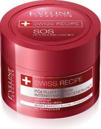 Eveline Swiss Recipe Półtłusty krem intensywnie regenerujący do twarzy i ciała  50ml