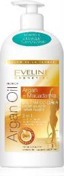 Eveline Eveline Salon De La France Balsam do ciała ujędrniająco-nawilżający 3w1  Argan Oil & Macadamia 350ml
