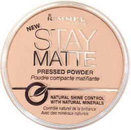 Rimmel  Puder prasowany Stay Matte nr 001 transparent 14g