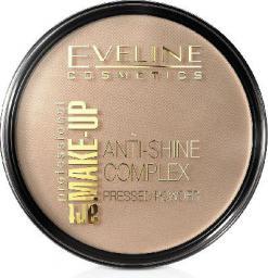 Eveline Art Professional Make-up Puder prasowany nr 35 golden beige  14g