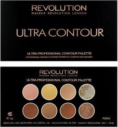 Makeup Revolution Ultra Contour Palette Zestaw do modelowania twarzy 13g