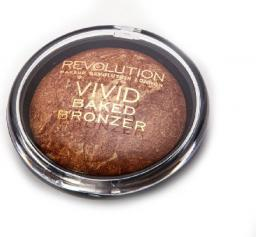 Makeup Revolution Baked Bronzer Puder brązujący wypiekany Rock  10g
