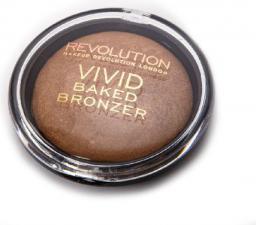 Makeup Revolution Baked Bronzer Puder brązujący wypiekany Golden Days  10g
