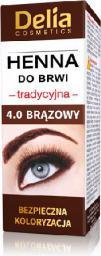 Delia Henna do brwi 4.0 Brązowa