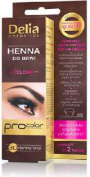 Delia Henna do brwi żelowa 3.0 ciemno brązowa