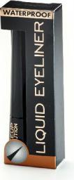 Makeup Revolution Liquid Eyeliner wodoodporny czarny  3ml
