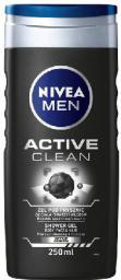 Nivea  Żel pod prysznic Active Clean men 250ml - 0184045