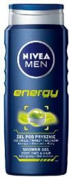 Nivea Żel pod prysznic Energy for men 500ml