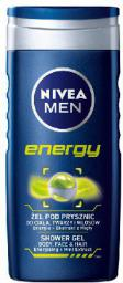 Nivea Żel pod prysznic Energy for men 250 ml