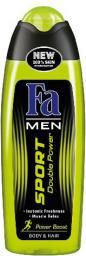 Fa  Men Sport Double Power Power Boost Żel pod prysznic 250ml - 68729505