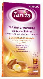 Tanita Plastry z woskiem do depilacji bikini z olejem arganowym  1op. 12szt.