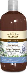 Green Pharmacy Żel pod prysznic Rozmaryn & Lawenda 500ml
