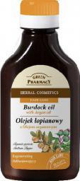 Green Pharmacy Olejek łopianowy z olejkiem arganowym odbudowujący - 811664