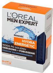 L'Oreal Paris Men Expert Woda po goleniu Hydra Energetic przeciw podrażnieniom 100 ml