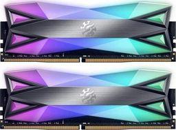 Pamięć ADATA XPG Spectrix D60G, DDR4, 16 GB, 3600MHz, CL18 (AX4U36008G18I-DT60)