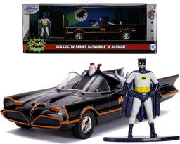 Jada Toys Jada Batman Batmobile Classic TV series + figurka