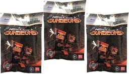 Jada Toys Zestaw 3 saszetek Jada Nano Metalfigs Minecraft Dungeons figurka niespodzianka