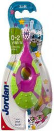 Jordan  Szczoteczka do zębów dla dzieci Step by Step 0-2 miękka - mix wzorów
