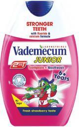 Vademecum  2w1 Pasta do zębów dla dzieci 6+ Truskawka  75ml