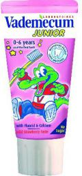 Vademecum  Junior Pasta do zębów dla dzieci 0-6 Truskawka  50ml