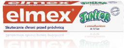 Elmex  Pasta do zębów dla dzieci Junior 6-12 lat DUO druga 50%   75mlx2