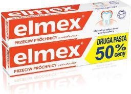 Elmex  Pasta do zębów + druga za 50% ceny 2 x 75 ml
