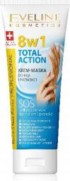 Eveline Hand & Nail Therapy Total Action 8w1 Krem-maska do rąk i paznokci  75ml