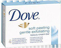 Dove  Soft Peeling Gentle Mydło w kostce 100g