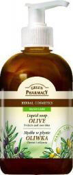 Green Pharmacy Mydło w płynie Oliwka 465ml