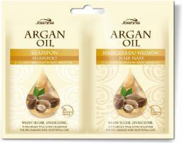 Joanna Argan Oil Duo Szampon i Maseczka w saszetce  10 ml + 10 g
