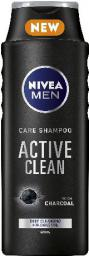 Nivea Hair Care Szampon ACTIVE CLEAN for men 400ml