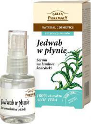 Green Pharmacy Jedwab w płynie Serum na łamliwe końcówki 30 ml