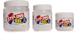 Hegron Styling Żel do modelowania włosów wetlook biały  500 ml