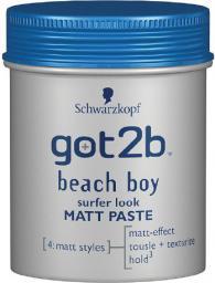 Schwarzkopf Got2b Beach Boy Pasta modelująca matująca  100 ml