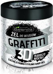 Bielenda Graffiti 3D Żel do układania włosów bardzo mocny 250 ml